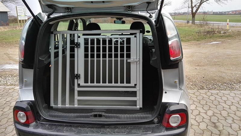 b-Safe Large Wide hundebur til boxer - Citroën C3 Picasso årgang 2009