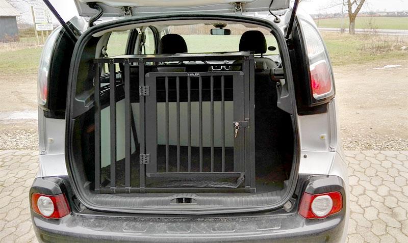 b-Safe Large Wide PRO hundebur - Citroën C3 Picasso årgang 2009