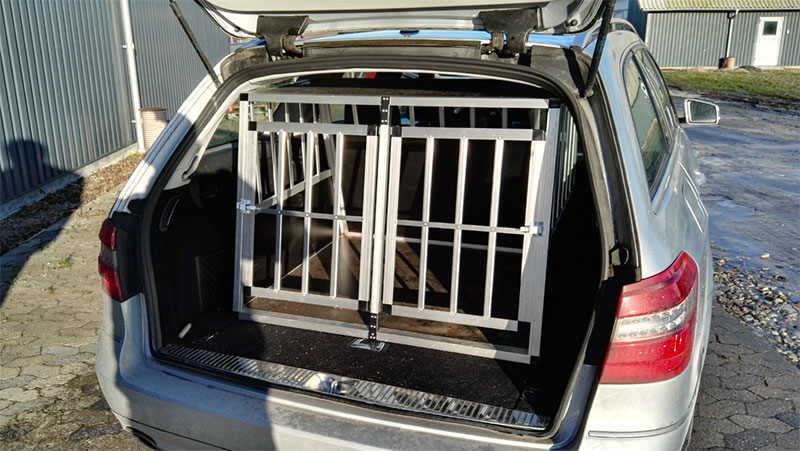 Safecrate Double XL Premium i Mercedes E350