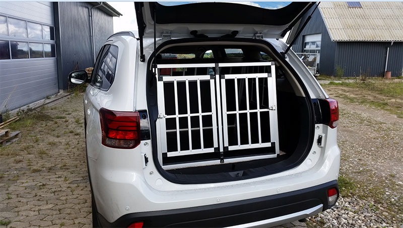 Safecrate Double Large Premium i Mitsubishi Outlander