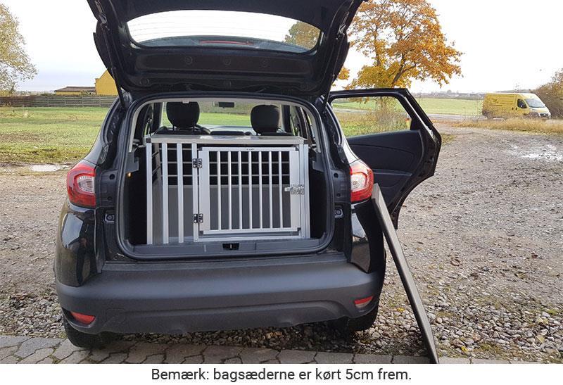 b-Safe Large Wide med trin i Renault Captur årgang 2016