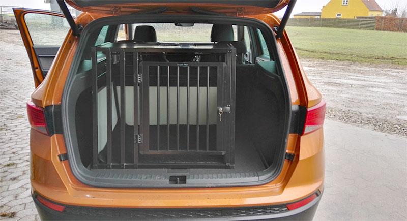 Hundebur til SUV - b-Safe Large Wide PRO - Seat Ateca årgang 2017