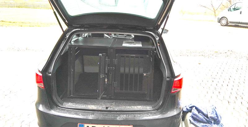 b-Safe Double Small PRO i Seat Leon Stationcar 2008
