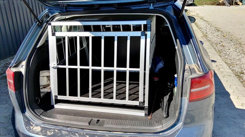 Safecrate XXL Premium i VW Passat Stationcar fra 2015