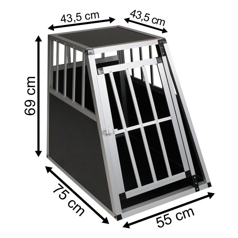 SafeCrate Large PREMIUM - Hundebur til små og mellemstore hunde