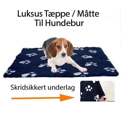 Luksus Tæppe / Måtte Til Hundebur Med Skridsikkert Underlag