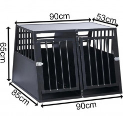 SafeCrate Double XL - 3. Generation Hundebur
