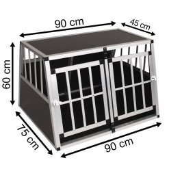 SafeCrate Double Medium Premium (2. Generation)
