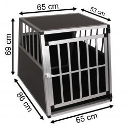 SafeCrate XL PREMIUM - Hundebur til Stor Hund (2. Generation)