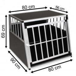 SafeCrate XXL PREMIUM - Ekstra Stort Hundebur Til Stor Hund