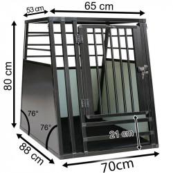 b-Safe XL High PRO - med trin - mål