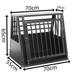 SafeCrate Medium Wide - 3. Generation - Hundebur